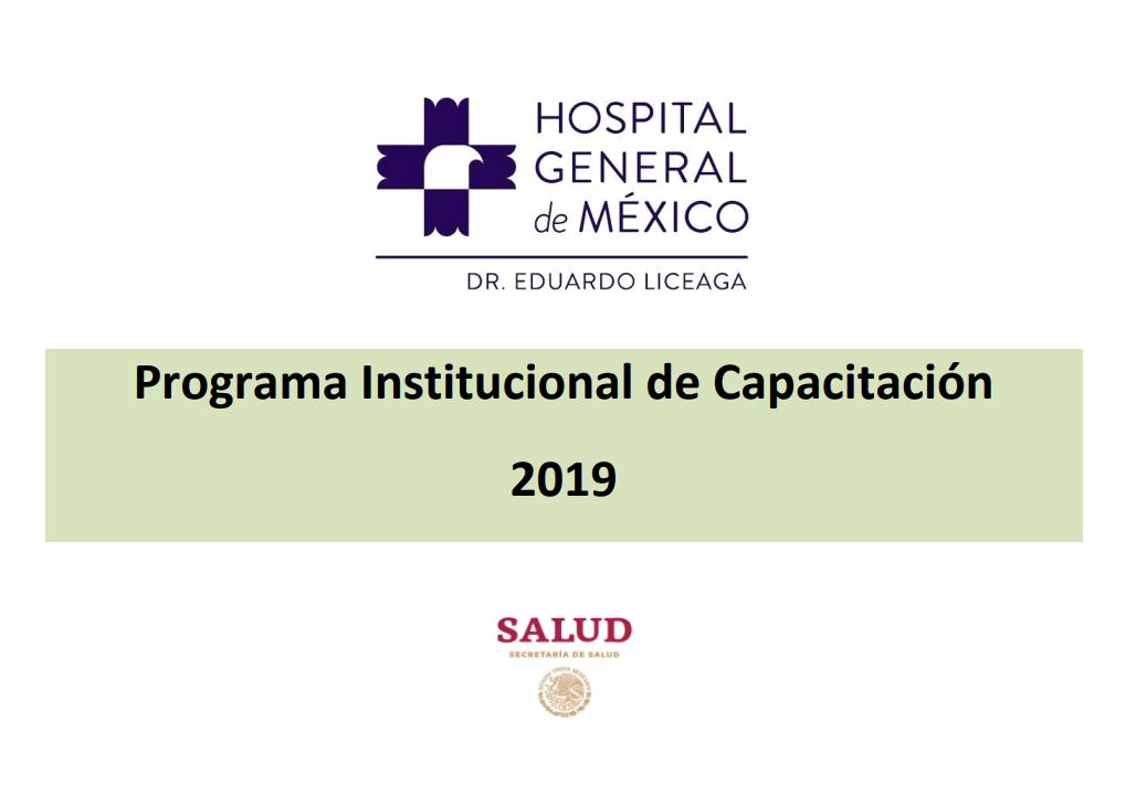 Programa Institucional de Capacitación